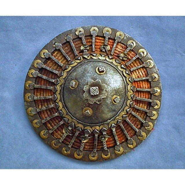 Antique 17th century Ottoman Turkish Islamic Shield Kalkan