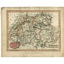 Antique Map Switzerland 1807