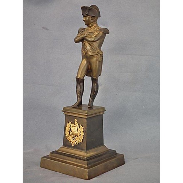 Antique Bronze Napoleon Bonaparte Sculpture