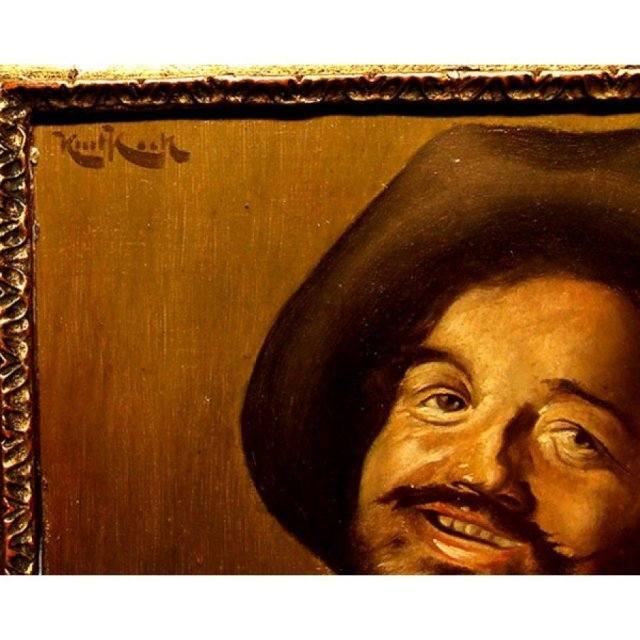Portrait of a Dwarf Oil Painting