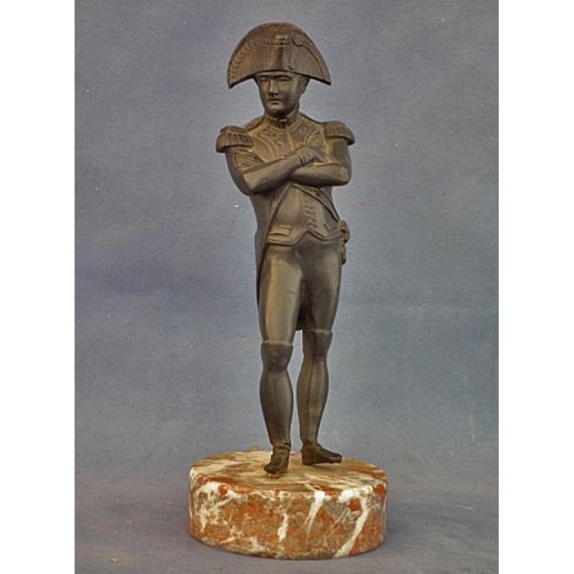 Antique Napoleon Bonaparte Bronze Sculpture 19th century