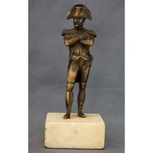 Antique Napoleon Bonaparte Bronze Figure Sculpture 19th century
