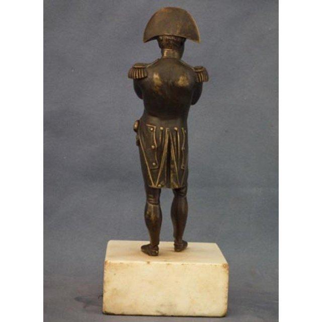 Antique Napoleon Bonaparte Bronze Figure Sculpture 19th century
