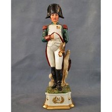Porcelain Figure of Napoleon Bonaparte with Sword