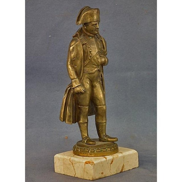 SOLD Antique Napoleon Bonaparte Bronze Sculpture Statue