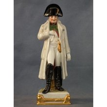 SOLD Porcelain Figure of Napoleon Bonaparte by Scheibe-Alsbach