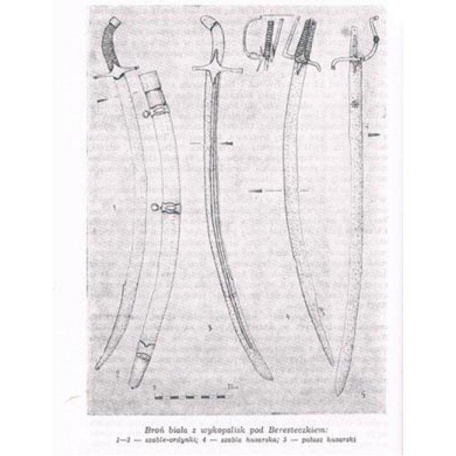 Antique 17th century Polish Hungarian Hussar Sword Sabre