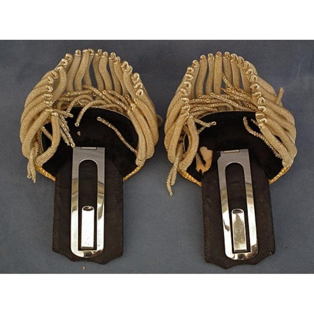 Antique Japanese Officer Uniform Epaulets