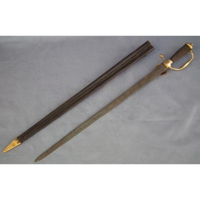 SOLD Antique Polish Saxon Hunting Sword Augustus II the Strong