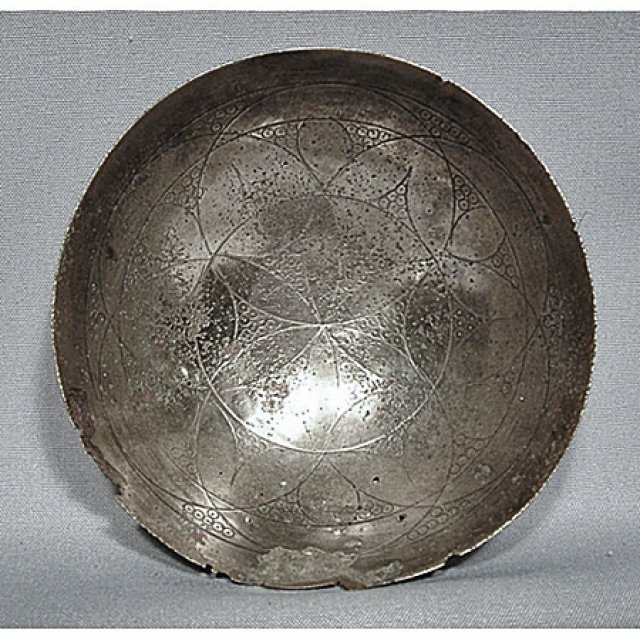SOLD Ancient Silver libation bowl Phiale Achaemenid period (c.550–330 B.C.)