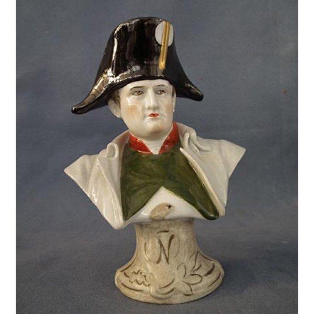 Porcelain Bust of Napoleon Bonaparte UNTER WEISS BACH