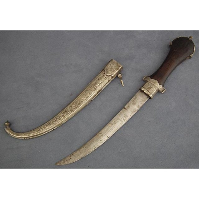 Antique Moroccan Islamic Dagger Jambiya 19t century