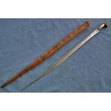 Antique Islamic Sword Moroccan Algerian Flyssa 19th c