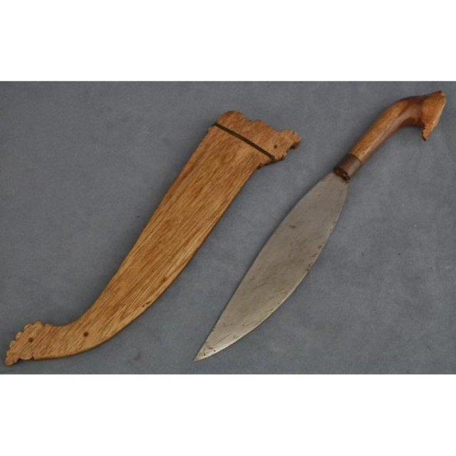 Antique Filipino Moro Islamic Sword Barong