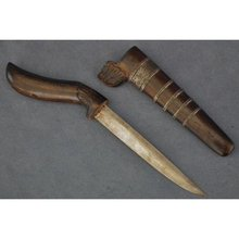 Antique Indonesian Knife Dagger Bade-Bade - Sewar Sumatra