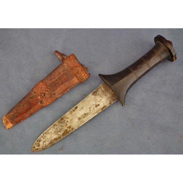 Antique Mahdist Sudanese Islamic Arm Dagger 19th century