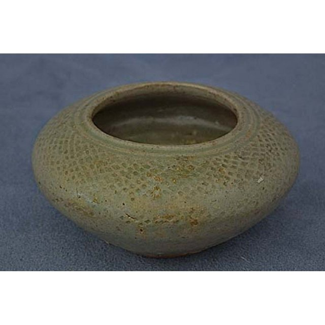 Antique Chinese Western Jin Dynasty Celadon Brush Washer