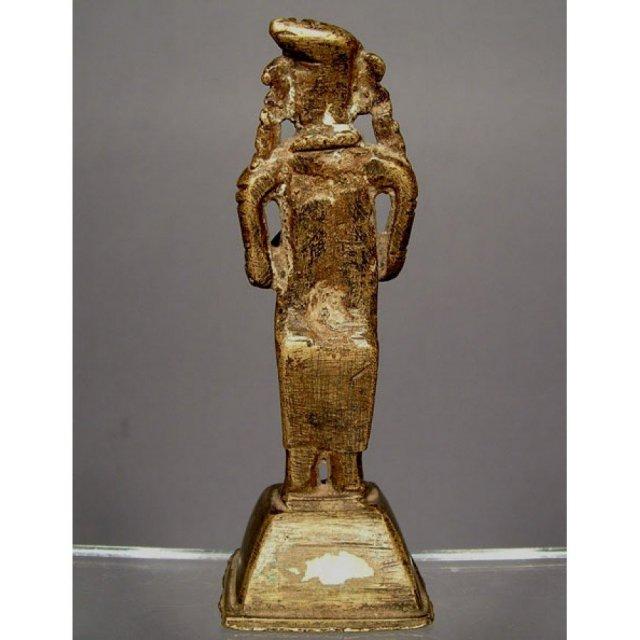 Antique Indian Hindu Bronze Deity Sculpture 18th century
