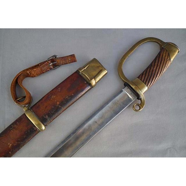 SOLD Antique Imperial Russian Military Sword Shashka M.1881