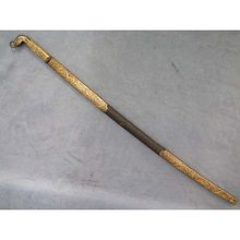 SOLD Antique 19th century Turkish Ottoman military Sword walking cane or swagger stick