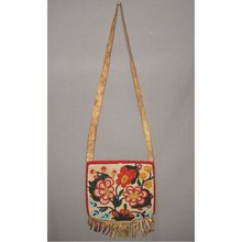 Antique American Indian Beaded Bag