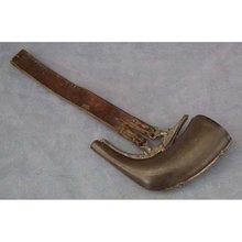 Antique 18th century Islamic Persian Powder Flask Horn