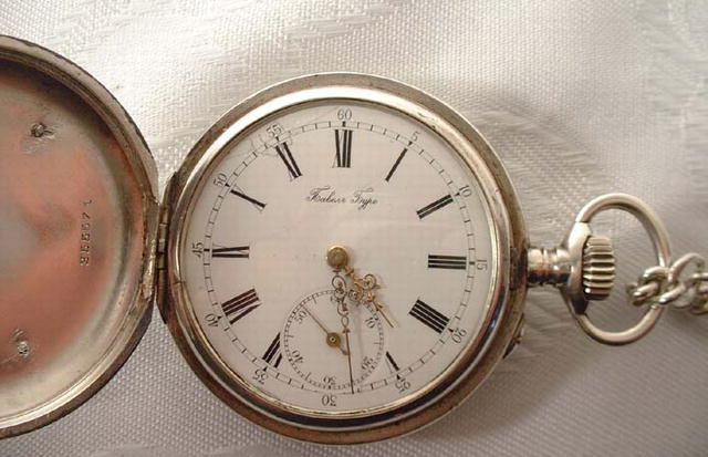 Pavel Buhre Russian Imperial Presentation Pocket Watch
