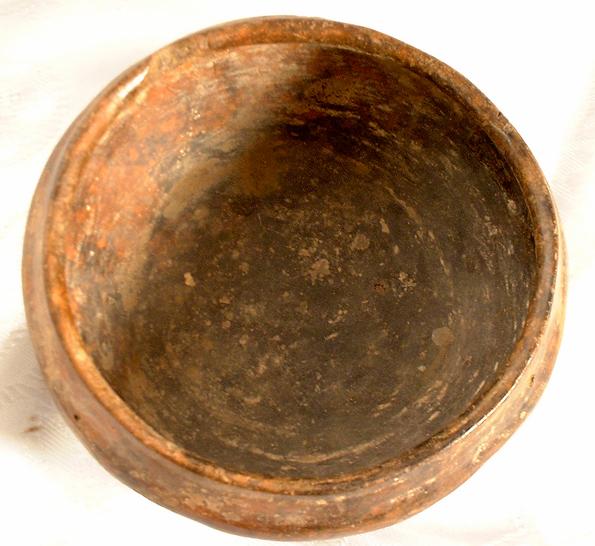 Pre-Columbian Mayan Ceramic Bowl, 500-800 AD