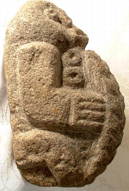 Pre-Columbian Veracruz Stone Idol Figure Mexico
