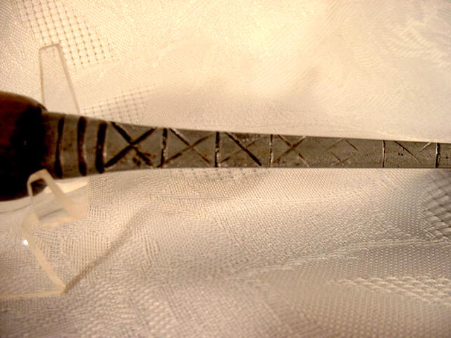 Unusual Antique Indonesian  dagger, 19th cen