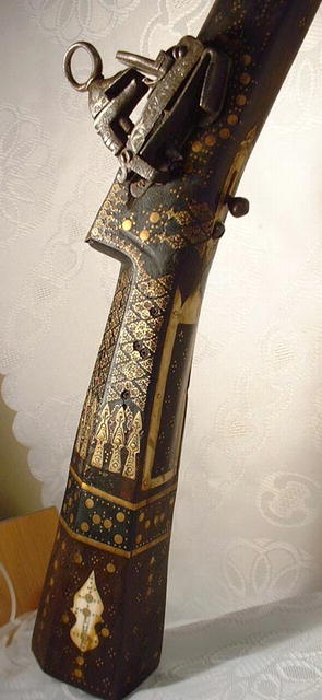 17th- 18th Century Ottoman Miquelet fullstock Gun