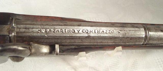Rare Antique Pistol,   Cominazzo Lazarino
