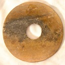 Antique Jade Disk Bi, Chinese Neolithic