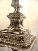 Imperial Russian-Polish Silver Candlestick 1900