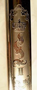 Belgium Cuirassier Sword Palash circa 1870