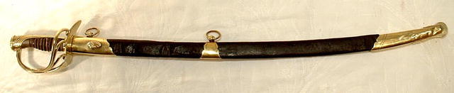 Antique French Infantry Officer's Sword 1814