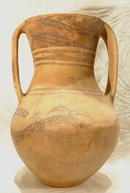 Antique Chinese Neolithic Pottery Amphora Majiayao culture