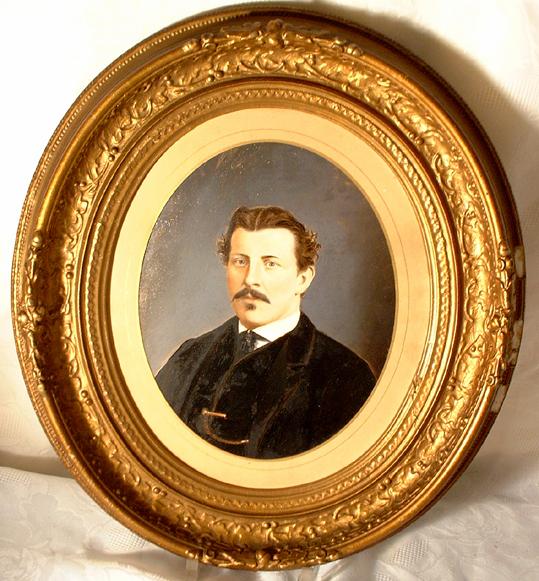 Antique Portrait of a Gentleman, unsigned