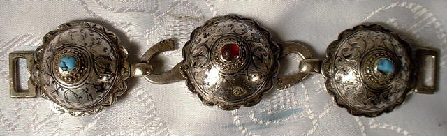 Caucasian Sword Belt Buckle 18th century