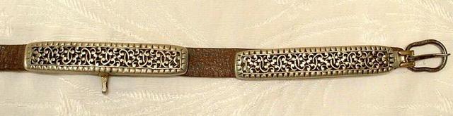 18th century Antique Tibetan Belt