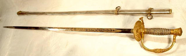 American Staff & Field Officer Sword Model 1860