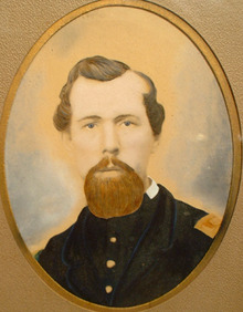 American Civil War Officer Portrait