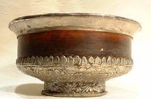 Antique Tibetan Buddhist  Bowl