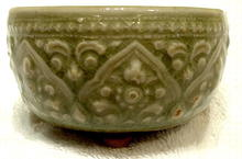 Antique Southeast Asian Celadon Censer, 14th - 17th century