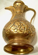 19th century, Turkish Ottoman Tombak Coffee Pot