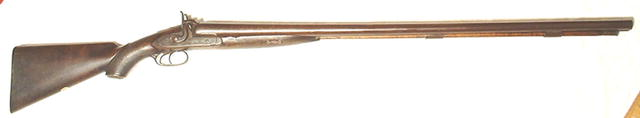 Early 19th Century Continental Percussion Pistol Gun