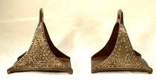 Circa 1700, Museum Quality Turkish Ottoman Stirrups