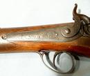 Antique Percussion Gun Rifle Wilson, 19th Century