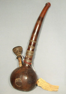 Antique Tribal African Pipe