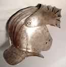 16TH CENTURY MAXIMILIAN CLOSE HELMET ARMOR.